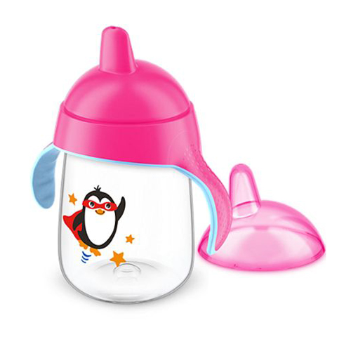 Copo Pinguim 340ml - Avent Rosa