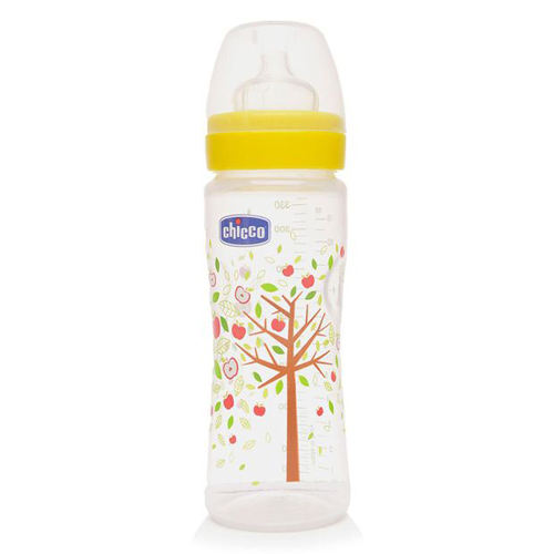 Mamadeira Fisiologica PP Silicone 330ml - Chicco